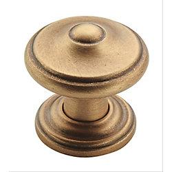 Amerock Revitalize 1-1/4-inch (32mm) DIA Knob - Gilded Bronze