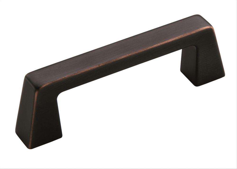 Poignée centres à 3 po (76mm)  Blackrock - Bronze huilé