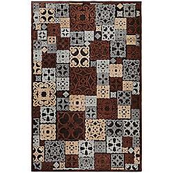 Artistic Weavers Carpette d'intérieur, 5 pi 1 po x 7 pi 6 po, style transitionnel, rectangulaire, havane Tyler
