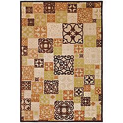Artistic Weavers Carpette d'intérieur, 7 pi 6 po x 10 pi 6 po, style transitionnel, rectangulaire, havane Tyler