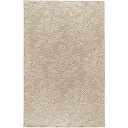 Artistic Weavers Carpette d'intérieur, 3 pi 6 po x 5 pi 6 po, style transitionnel, rectangulaire, havane Sofia