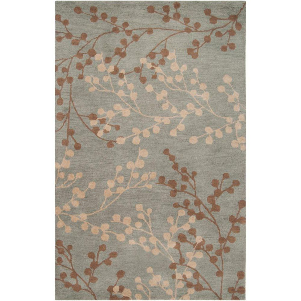 Artistic Weavers Blossoms Blue 9 Ft X 12 Ft Area Rug