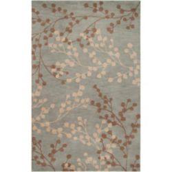 Artistic Weavers Carpette, 9 pi x 12 pi, bleu Blossoms