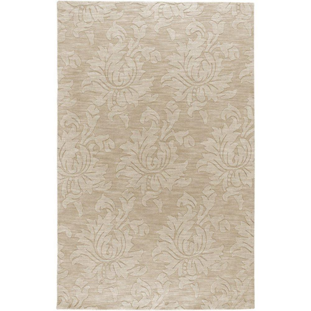 Sofia Beige Wool 9 Ft. x 12 Ft. Area Rug