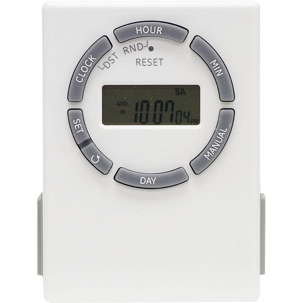 Plug-In 7 Day Digital Timer