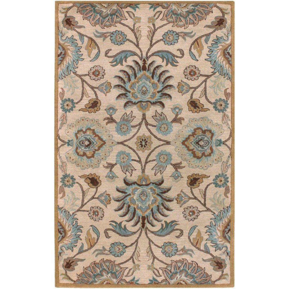 Amanda Ivory Wool   - 8 Ft. x 10 Ft. Area Rug