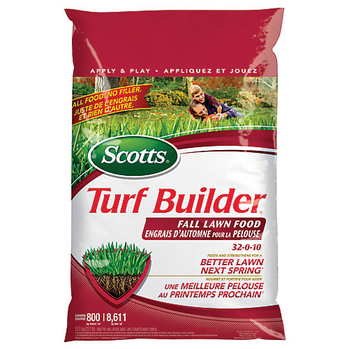 Turf Builder Fall Lawn Food 32-0-10 - 400m