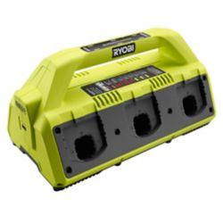 RYOBI Batterie 18V ONE+ 6-Port Super Charger