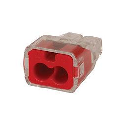 IDEAL Connecteurs de fils par insertion 2 orifices Qte 10
