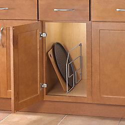 Knape & Vogt 12.56-inch x 3.06-inch x 20.25-inch Tray Divider Cabinet Organizer