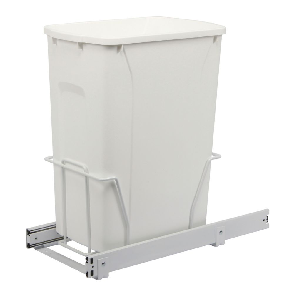 Slide-Out Waste Bin - 35 Quart - Lid is not Included