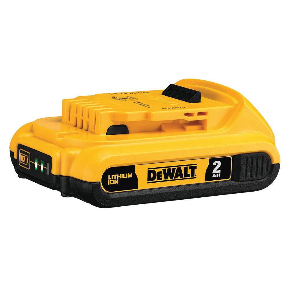 DEWALT 20V MAX Lithium-Ion Compact Battery Pack 2.0Ah