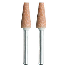 1/4-inch Aluminum Oxide Grinding Stone (2-Pack)