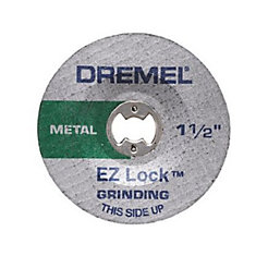 1-1/2 Feet.  Grinding Wheel