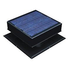 Solar Attic Fan, Roof Mount 30 Watt, Black