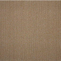 Cam Living 19.69-inch x 19.69-inch Beige/Cocoa Bailey Stripe Carpet Tile (26.9 sq. ft. / case)
