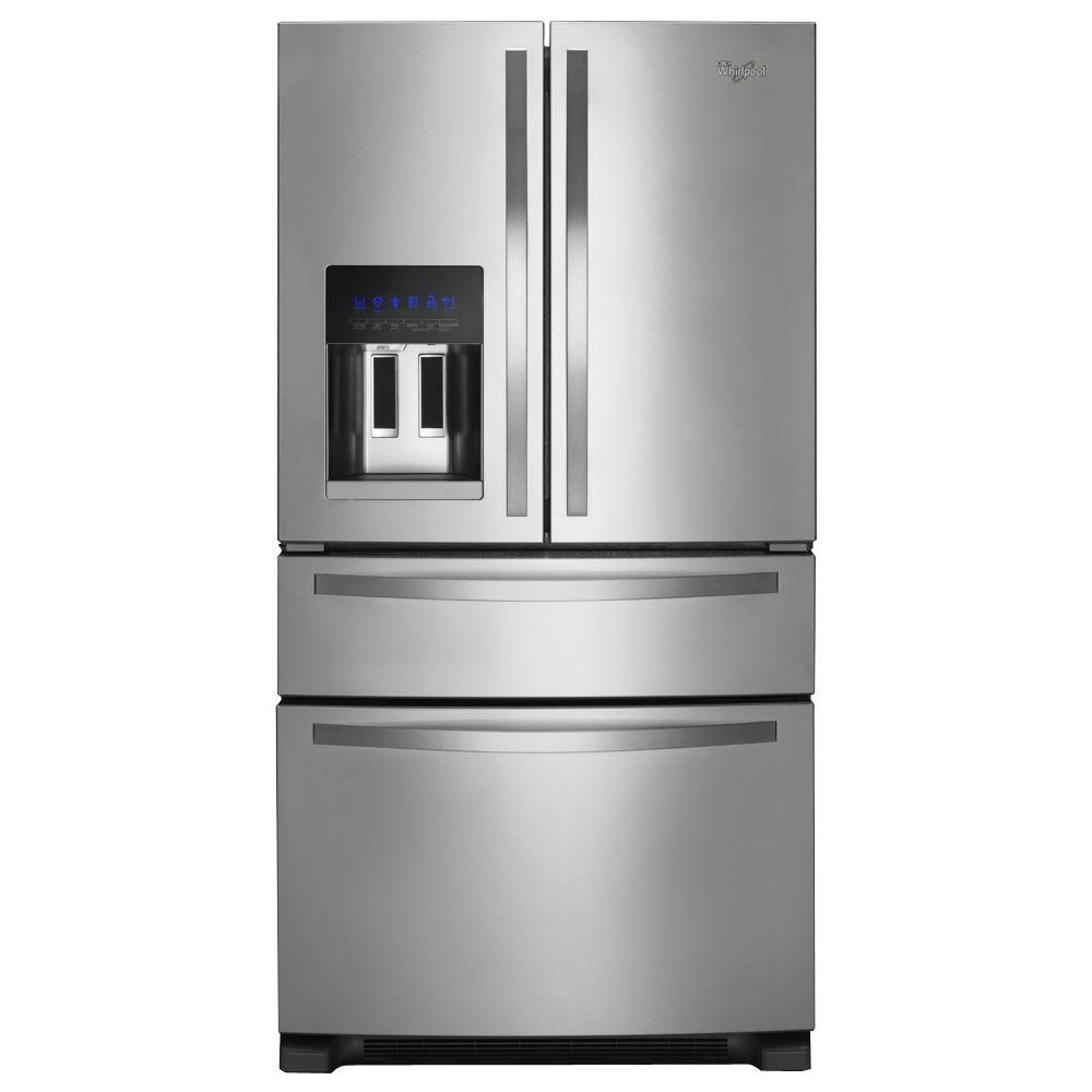 24.5 cu. ft. French Door Refrigerator with External Refrigerator Drawer in Stainless Steel