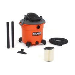 RIDGID Aspirateur sec/humide 60 l (16 gal), 5,0 HP crête