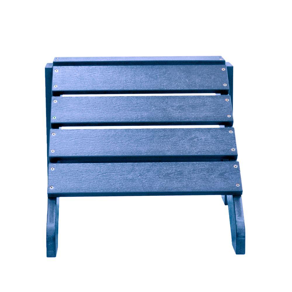 carolina cottage bleu du pacifique pouf adirondack cape. Black Bedroom Furniture Sets. Home Design Ideas