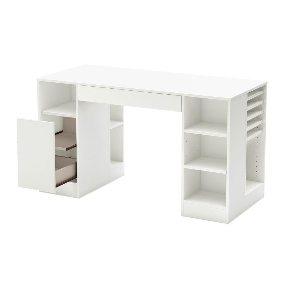Crea Craft Table Pure White