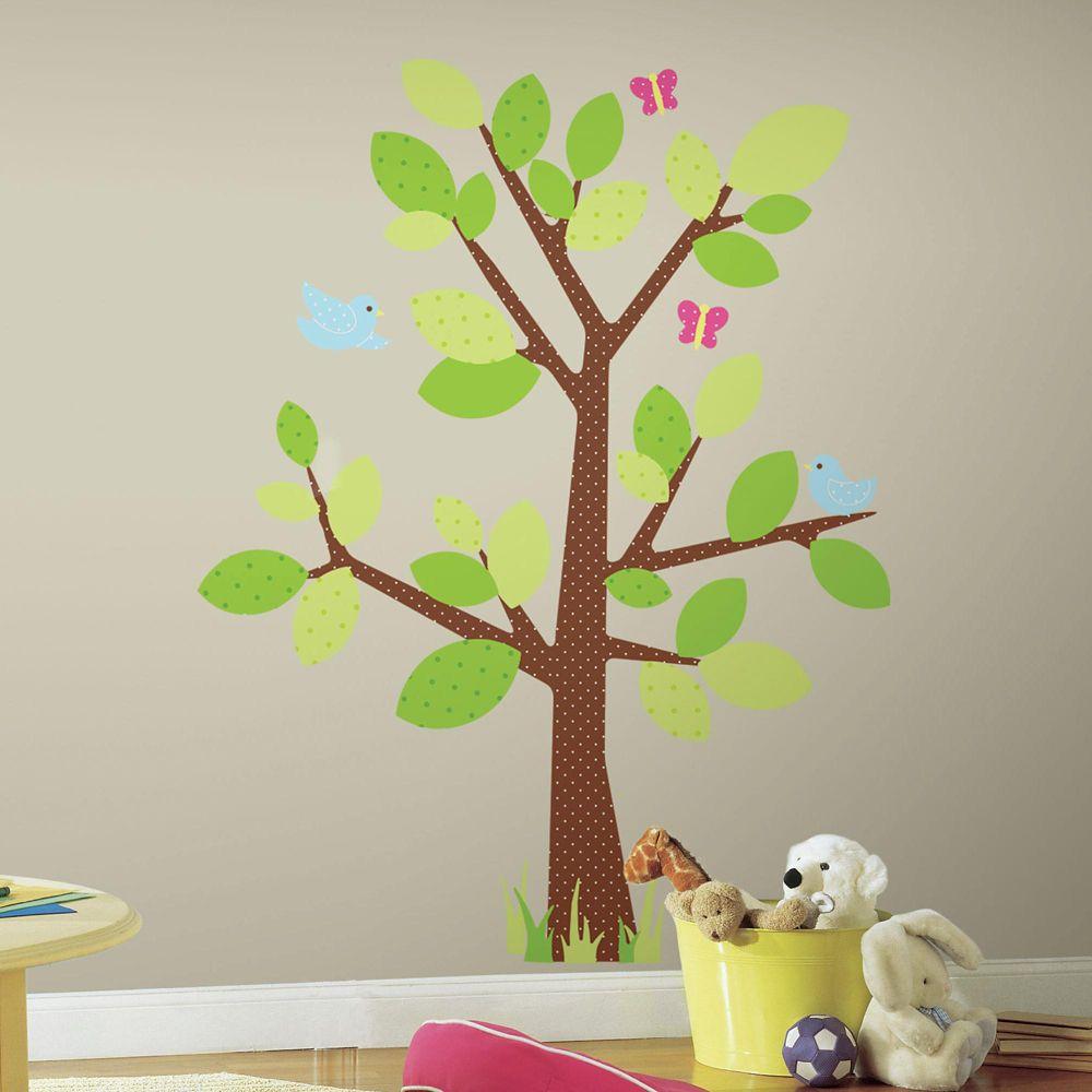 Kids Tree Peel & Stick Giant Wall Decal