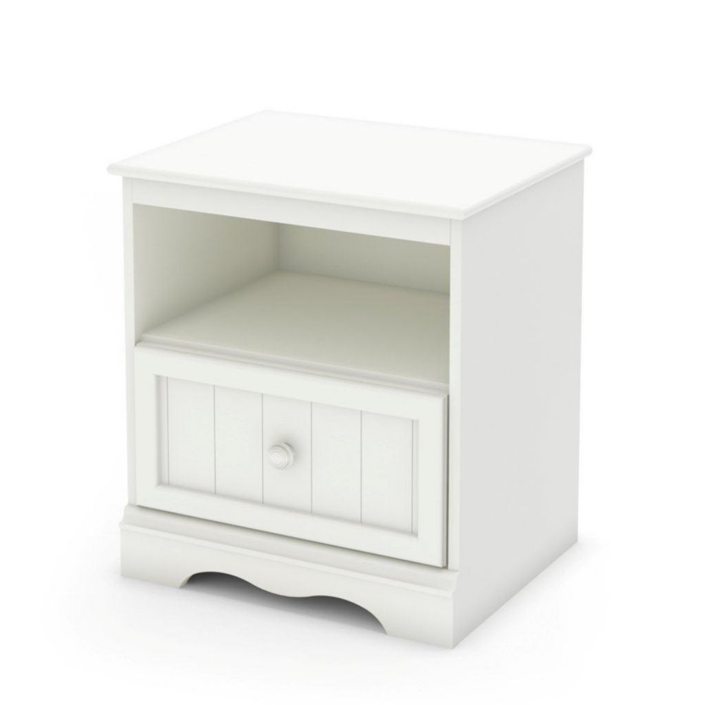 Sweet Lullaby Nightstand Pure White