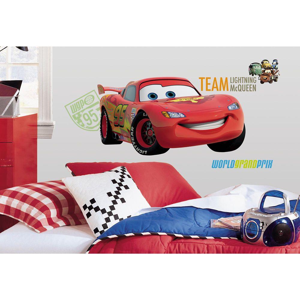Disney-Cars 2 Peel & Stick Giant Wall Decal