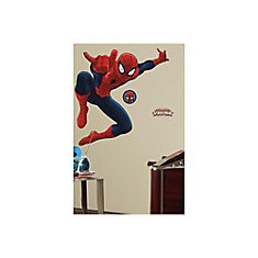 Marvel-Ultimate Spiderman Peel & Stick Giant Wall Decal