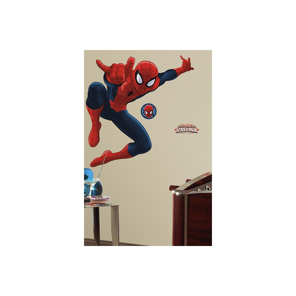 RoomMates Marvel-Ultimate Spiderman Peel & Stick Giant Wall Decal