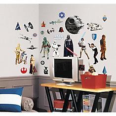Stickers Muraux Star Wars