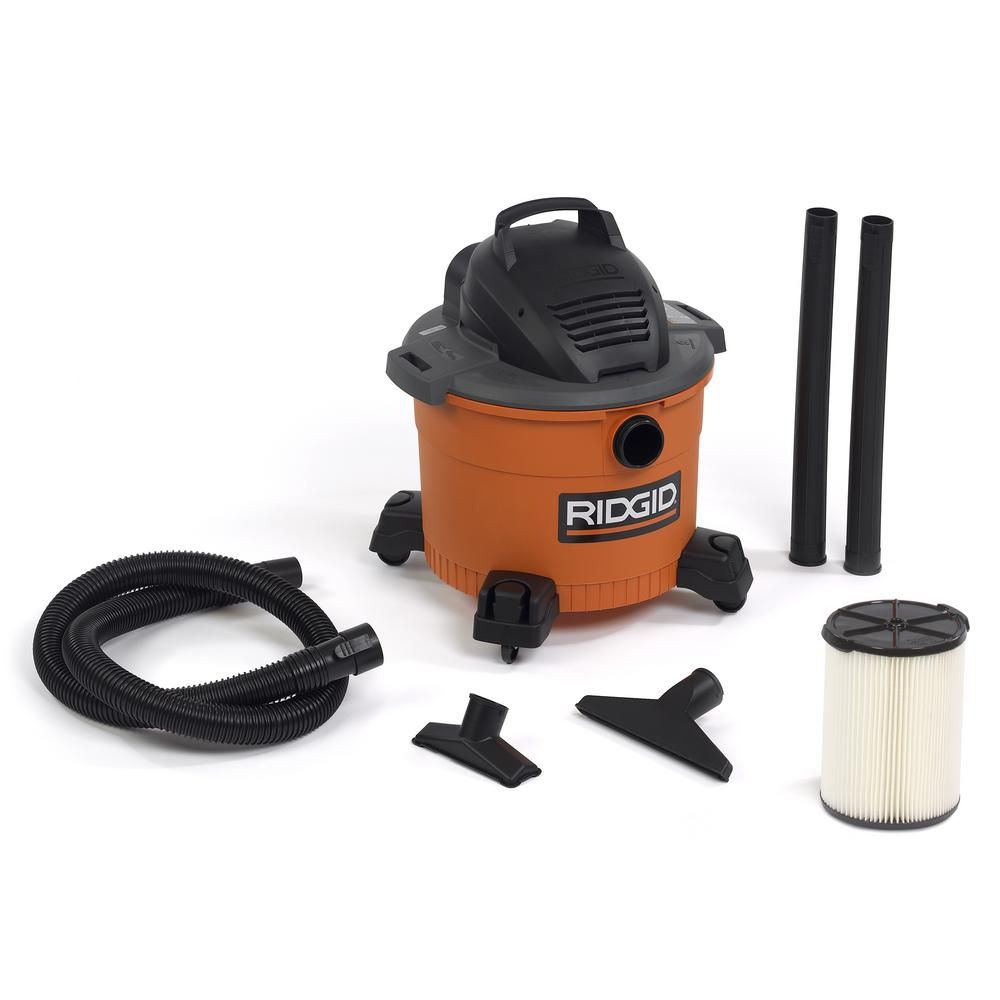 34 L (9 Gal.) 4.25 Peak HP Wet/Dry Vacuum