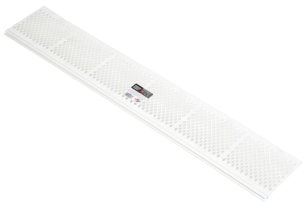 3 ft Gutter Snap-In Filter White