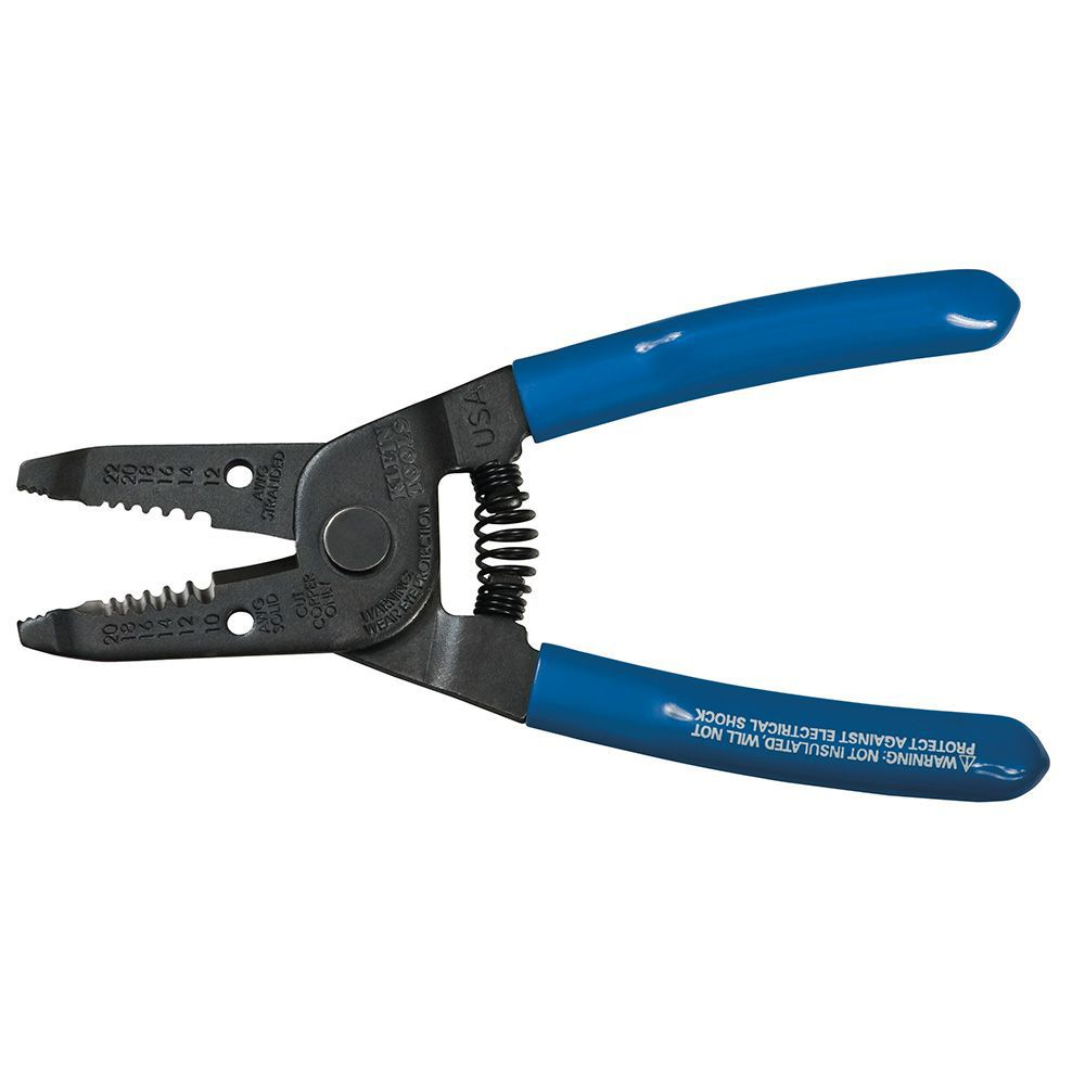 10-20 AWG Wire Stripper / Cutter - Solid and Stranded Wire