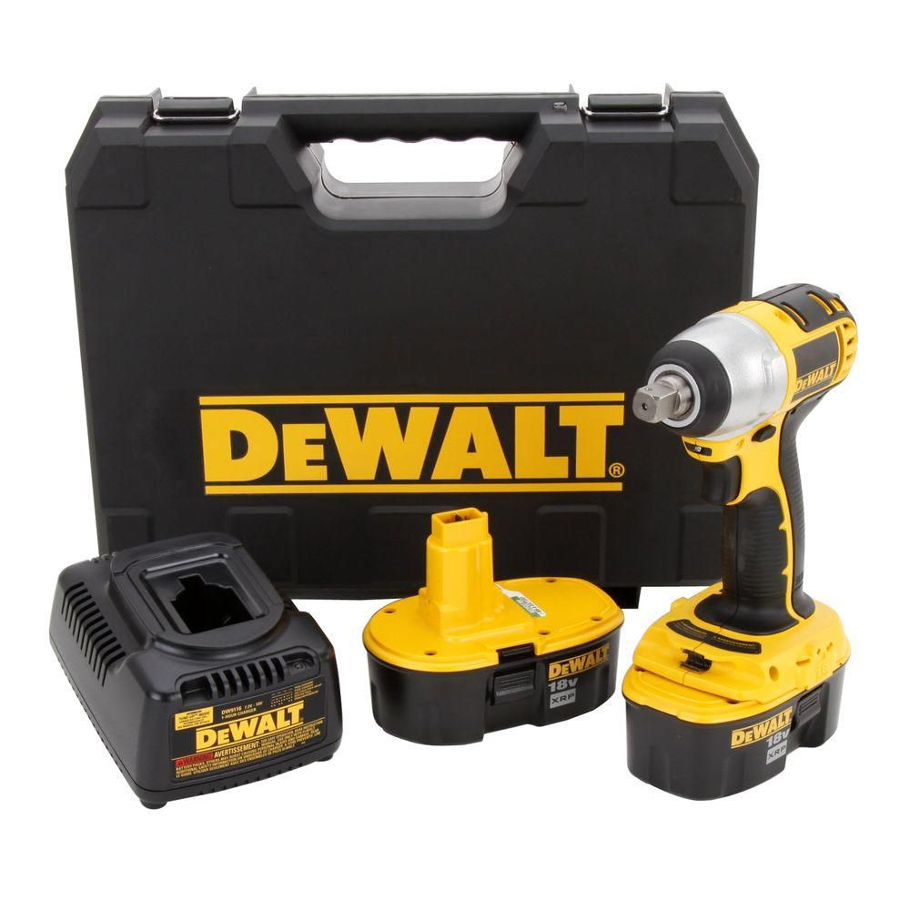 18V 1/2- Inch  Impact Wrench