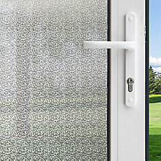 Winter Morning Privacy Control Window Film 3 feet x 6.5 feet