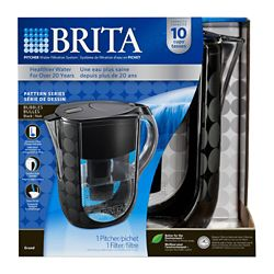 Brita Brita Grand Pitcher Bubbles Black