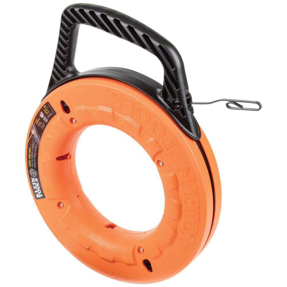 Ruban de tirage Depthfinder� en acier haute résistance de 1/8 po de large - 65 pi