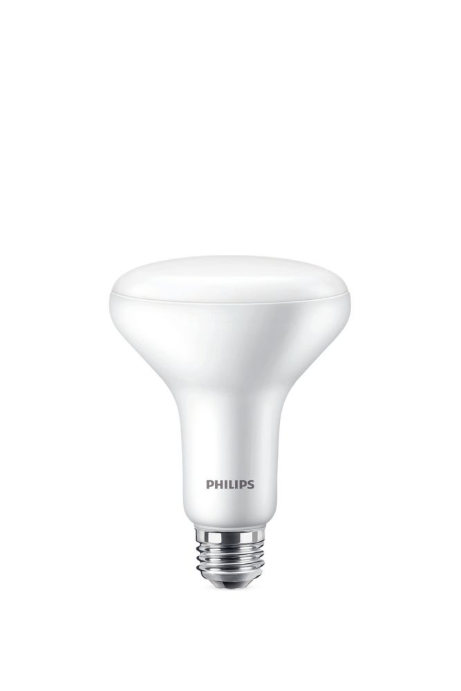 Philips 65W BR30 Soft White Warm Glow (2700K - 2200K) LED Light Bulb - ENERGY STAR®