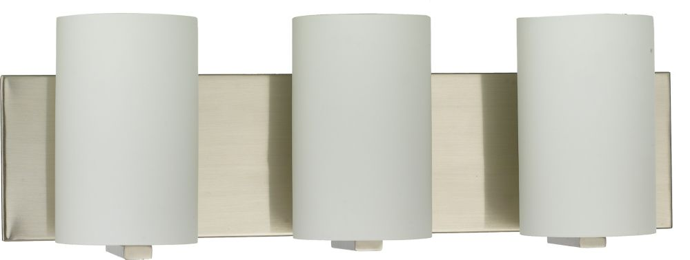 20 Inches Wall Sconce, Brushed Nickel Finish