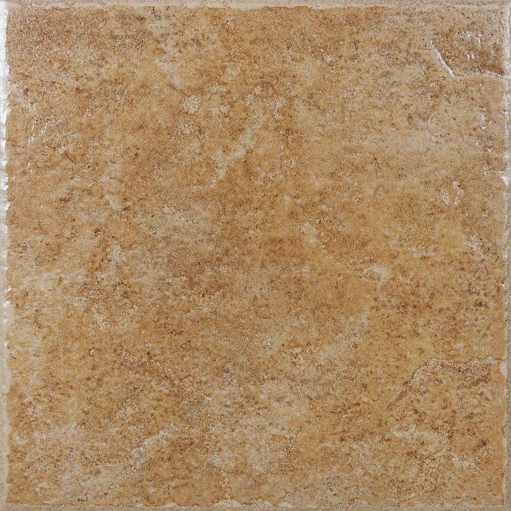 Naturi lagos 13 1 inch x 13 1 inch ceramic tile in walnut for 13 inch ceramic floor tile