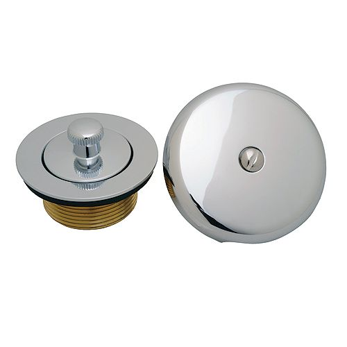 MOEN Lift And Lock Drain, Waste And Overflow Trim Kit In Chrome