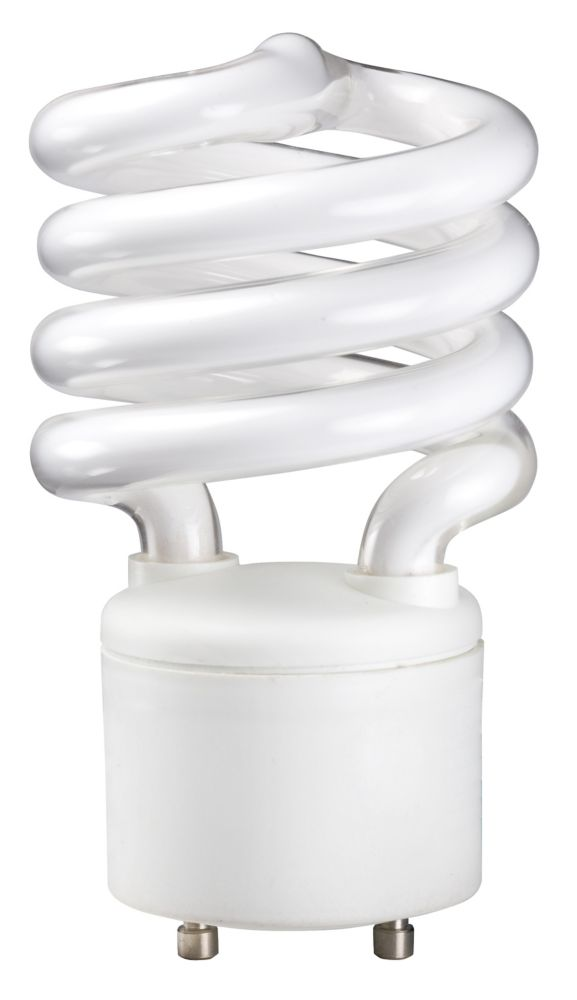 CFL 18W = 75W GU24 Mini Twister Soft White (2700K)