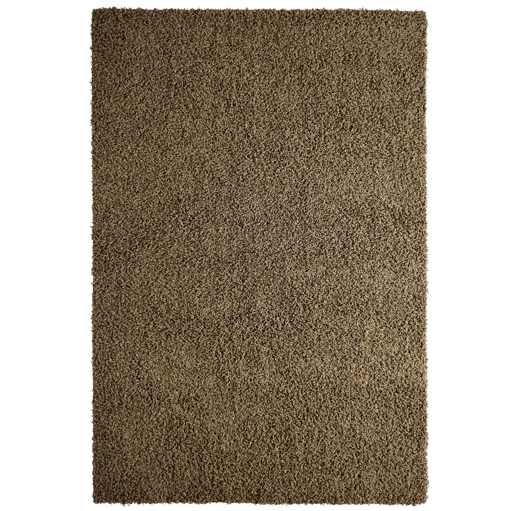 Taupe Comfort Shag Area Rug   8 Ft. x 10 Ft. Area Rug