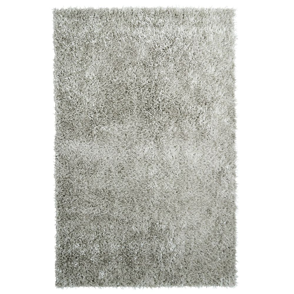 Silver City Sheen 3 Ft. x 4 Ft. 6 In. Area Rug CSHEEN3X5SV Canada Discount