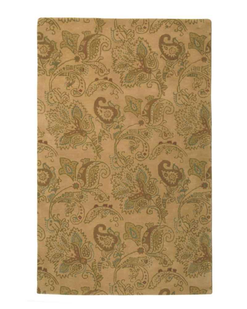 Antique Florence 3 Ft. x 4 Ft 6 In. Area Rug