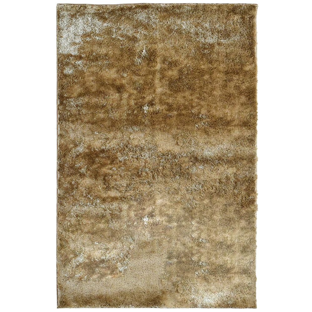 Gold Silk Reflections 3 Ft. x 5 Ft. Area Rug