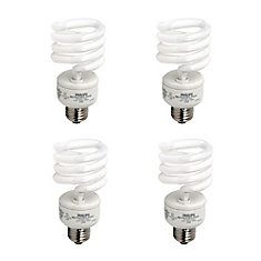 CFL 23W = 100W  Mini Twister Daylight (6500K) - 4 Pack