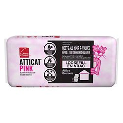 Owens Corning AttiCat Expanding Pink Fiberglas Blown-In Insulation System