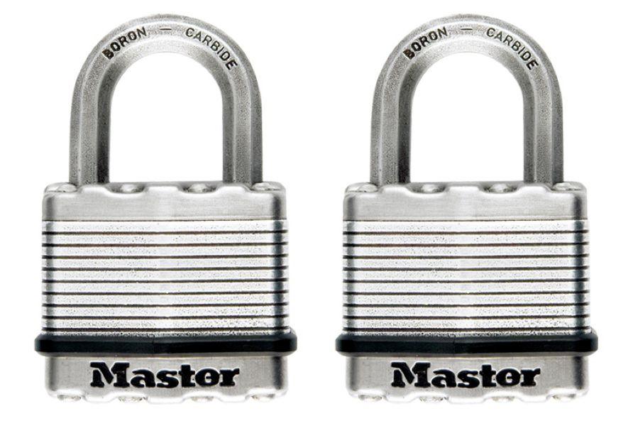 """Master Lock Magnum Cadenas lamine 2"""" 2Pk"""