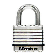 Magnum Laminated Padlock 2 In. With 2-1/2 In. Shackle  - 2 Pack